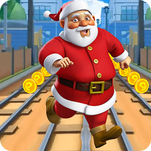 Subway Santa Claus Xmas Surf for PC and MAC