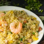 Young Chow Fried Rice (Shrimp & BBQ Pork)