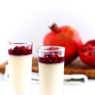 Pomegranate Panna Cotta Recipe