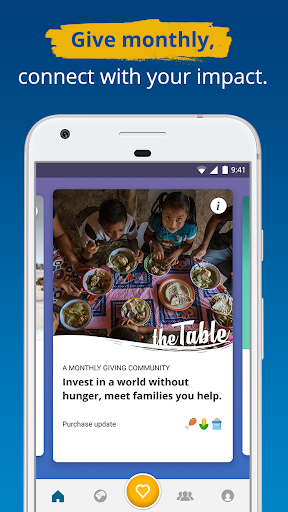 ShareTheMeal –by the United Nations WFP for PC