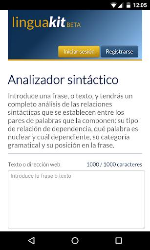Syntactic Analyzer LK