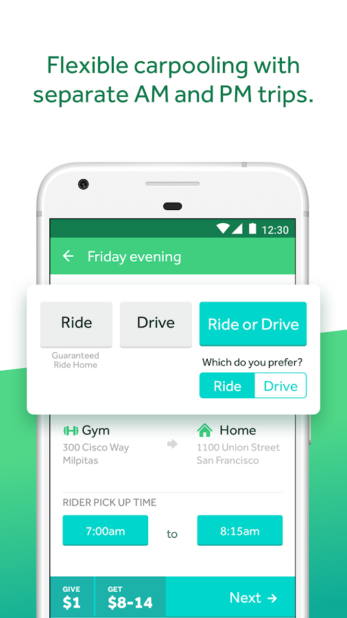 Scoop - Carpool with Co-Workers & Neighbors- screenshot