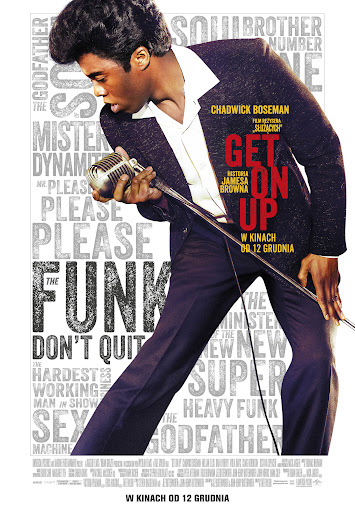 Polski plakat filmu 'Get On Up'
