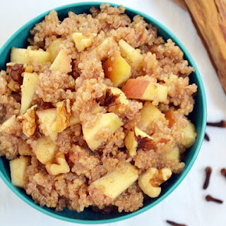 Apple Nut Quinoa.