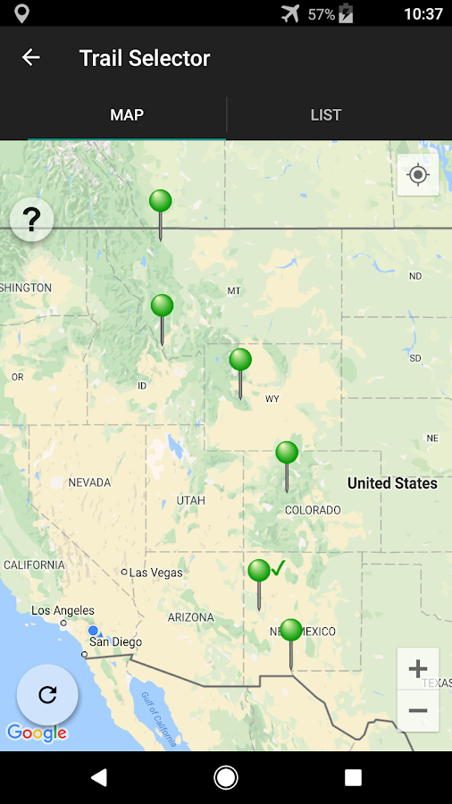 Continental Divide Trail Android Apps On Google Play - Cdt trail map
