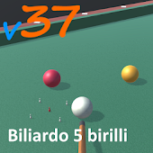 5 pins billiard