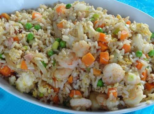 """Click Here for Recipe: Yang Chow Fried Rice """"I used that Yangtze..."""