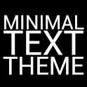 Minimal Text THEME - PAID icon