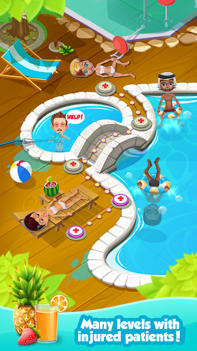 Crazy Pool Party Doctor Games  screenshots 2