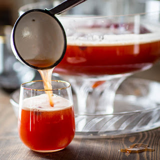 Maple Spiced Rum Punch.