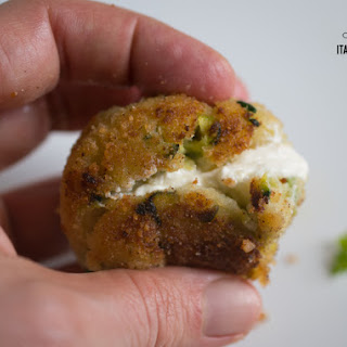 Zucchini Potato Balls With A Yummy Cheesy Heart!