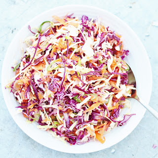 Easy No Mayo Coleslaw (Dairy Free, Egg Free & Vegan) Recipe