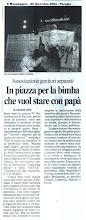 Photo: In solidarietà a padre/figlia di Perugia