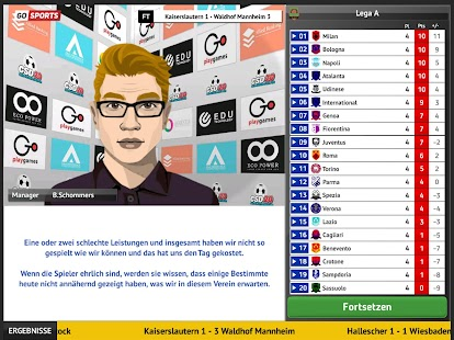 Club Soccer Director 2021 - Fußball-Management Screenshot