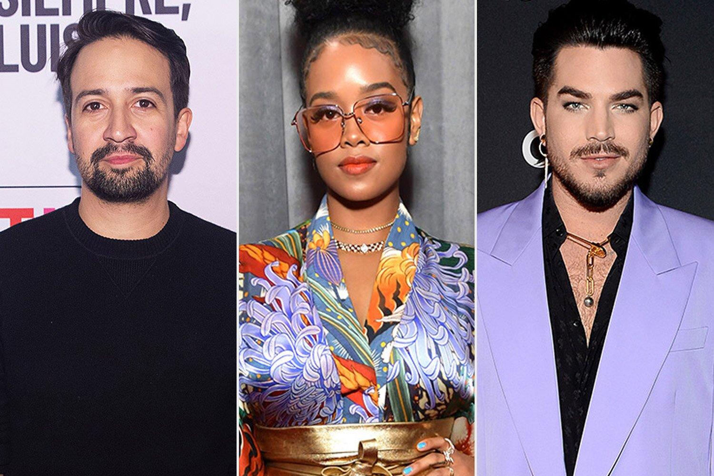 H.E.R., Lin-Manuel Miranda, Adam Lambert