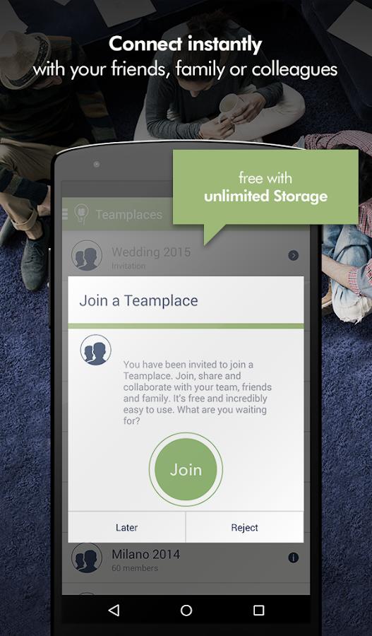 Teamplace- screenshot
