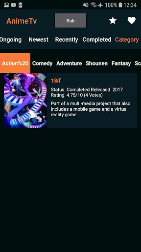 Anime Go - Watch Anime Tv Anime Online 1.0.2.1 app download 3