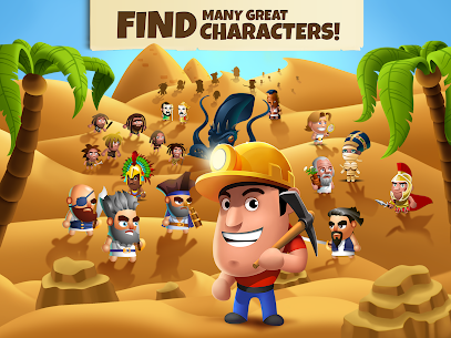 Diggy's Adventure MOD Apk ( Unlimited Energy) 4