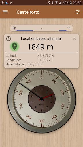 Accurate Altimeter 2.1.11 screenshots 1