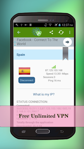 Free Unlimited VPN Master & hotspot Shield  screenshots 3