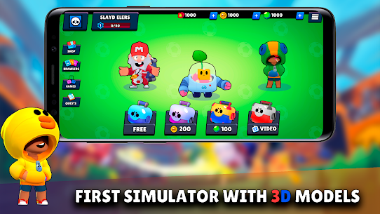 Box Simulator for Brawl Stars: Open That Box! Mod Apk Download For Android and Iphone 1