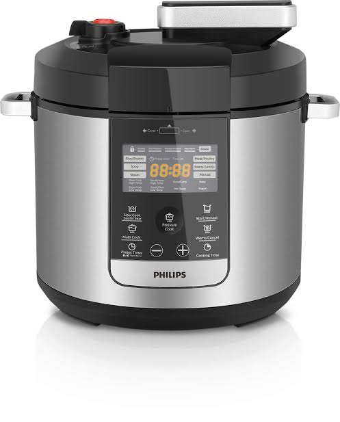Phillips all in one pressure cooker control pad. Source: Phillips