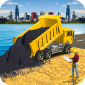 Road Builder Simulator : Construction Games