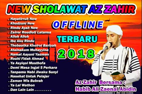 New Sholawat Az Zahir | Offline - náhled