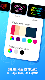 Neon LED Keyboard – RGB Lighting Colors 4