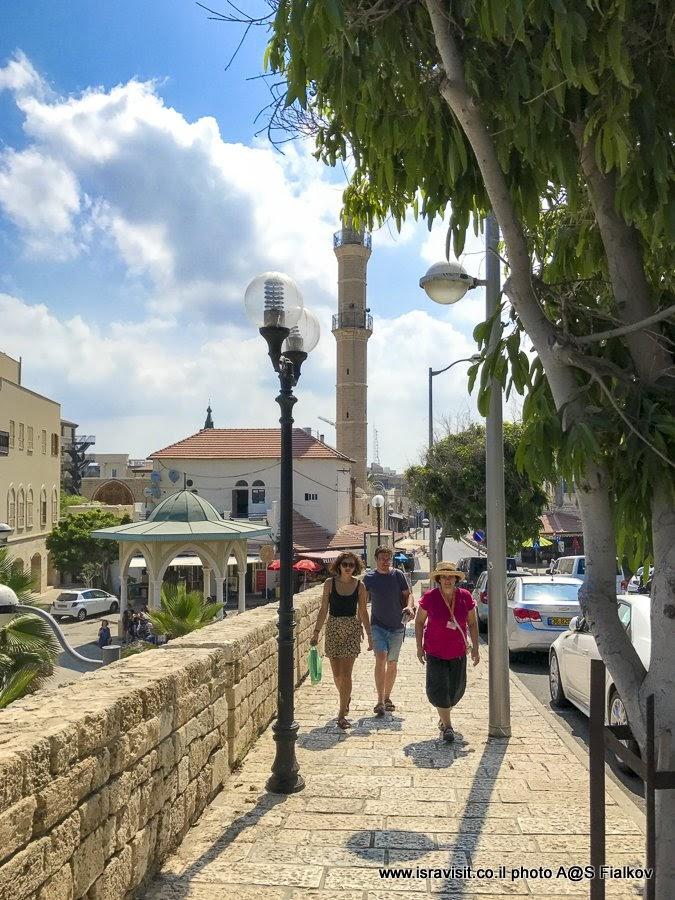 Индивидуальная экскурсия в Яффо с гидом в Израиле Светланой Фиалковой.