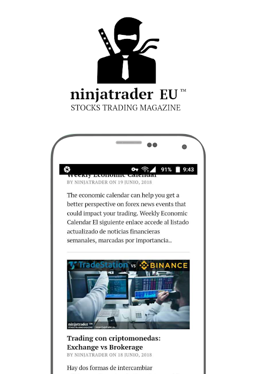 ninjatrader for android