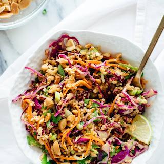 Crunchy Thai Peanut & Quinoa Salad.