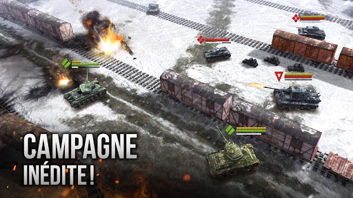 Télécharger Gratuit Armor Age: Tank Wars — WW2 Platoon Battle Tactics APK MOD (Astuce) screenshots 1