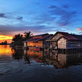 Lok Baintan Village by Andie Makkawaru - News & Events World Events ( journalism, nature, people )