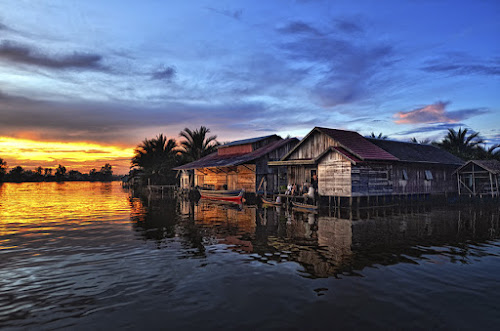 Lok Baintan Village by Andie Makkawaru - News & Events World Events ( journalism, nature, people )