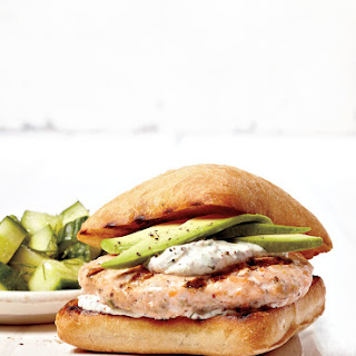 Bocconcini Chicken Burgers Recipe