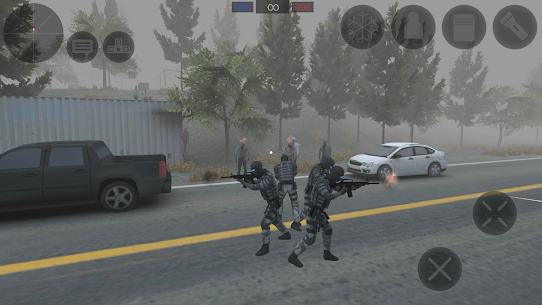 Zombie Combat Simulator  Apk + Mod + Data for Android 3