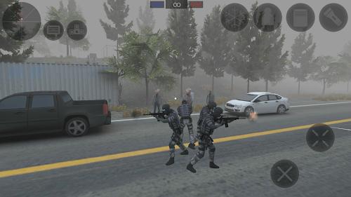 Screenshot 2 Zombie Combat Simulator 1.2.5p APK+DATA MOD