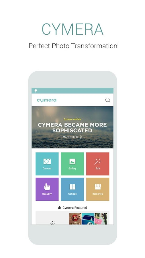 Cymera - Photo Editor, Collage- screenshot