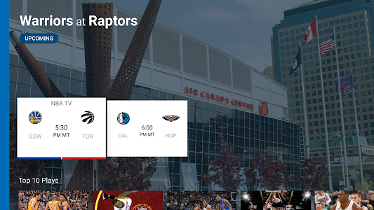 NBA for Android TV screenshot 2