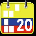 Calendario Festivos Colombia 2020 2021 con Widget icon
