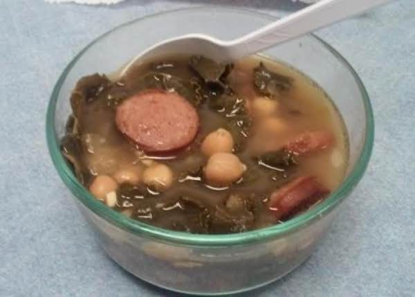 Smoked Sausage And Kale Soup