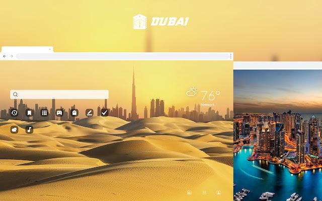 Dubai HD Wallpapers New Tab Theme