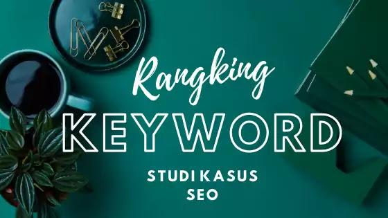 SEO ranking keyword on google