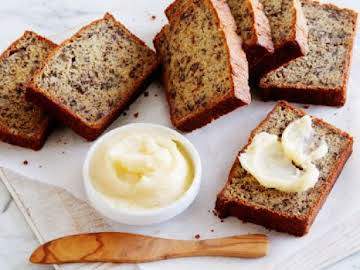 Momma Callie's Banana Nut Bread with Honey Butter.