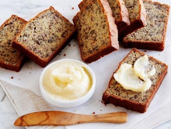 Momma Callie's Banana Nut Bread With Honey Butter. Recipe