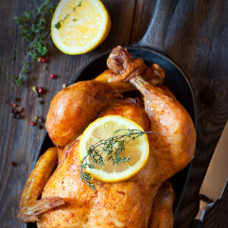 CrockPot Rotisserie-Style Chicken.