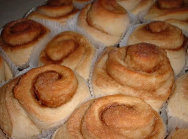 Cinnamon Cake Mix Rolls