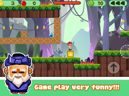 Super Kid Run and Jump Jungle Adventure - náhled
