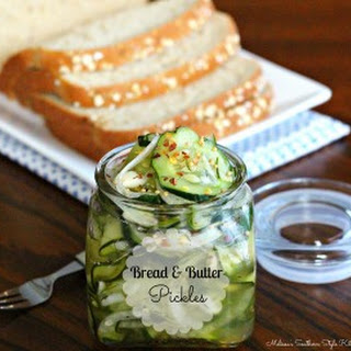 Bread And Butter Refrigerator Pickles